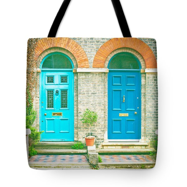 Front Doors Tote Bag by Tom Gowanlock