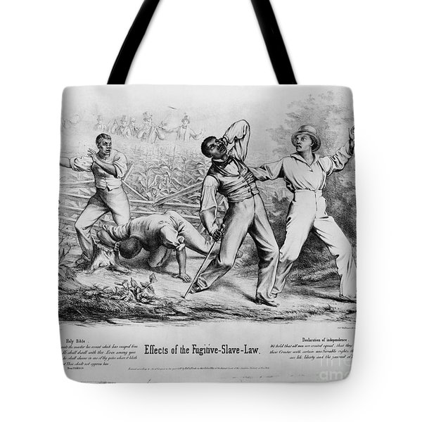 Fugitive Slave Law Tote Bag by Photo Researchers