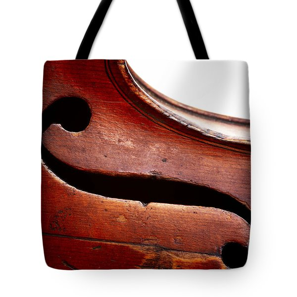 G Clef Tote Bag by Michal Boubin