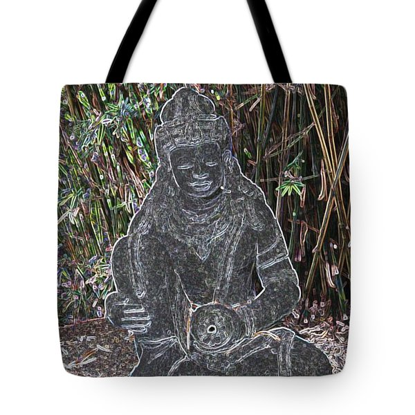 Tote Bag featuring the photograph Garden Goddess by Donna  Smith