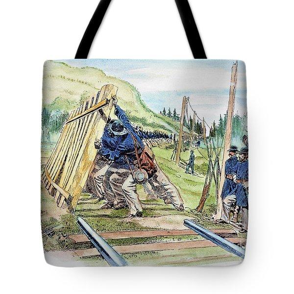 Georgia: Shermans March Tote Bag by Granger