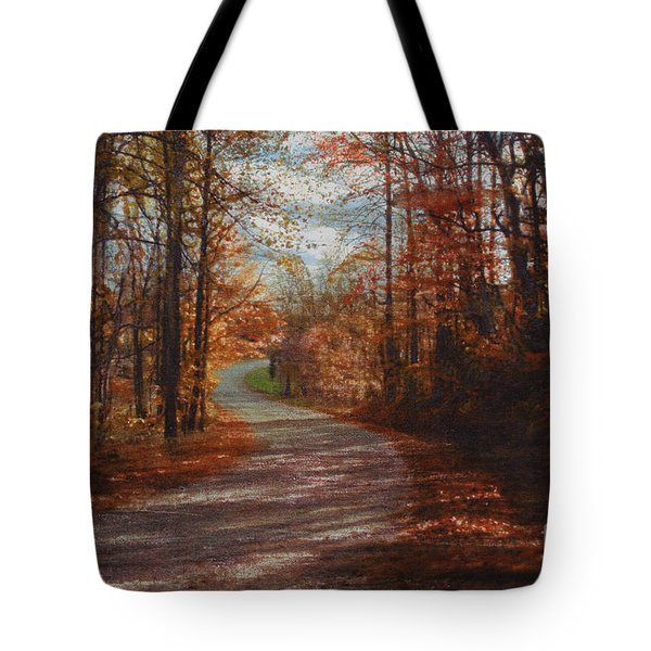 Gibson Ridge Road Tote Bag