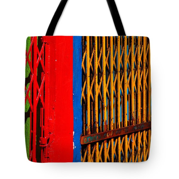 Gilded Cage Tote Bag by Skip Hunt
