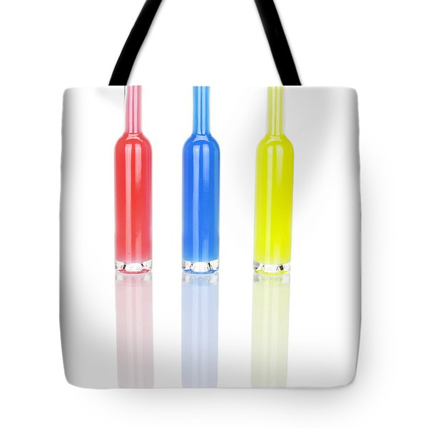 Glass Bottles Tote Bag by Joana Kruse