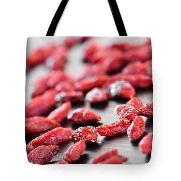 Goji Berries Tote Bag by Elena Elisseeva