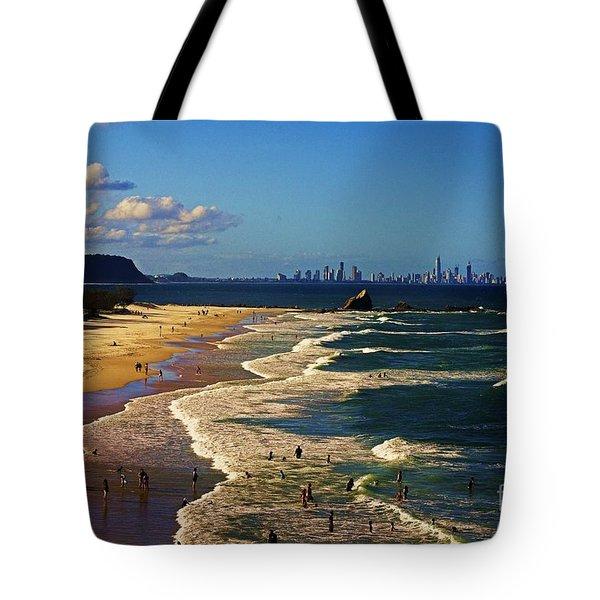 Gold Coast Beaches Tote Bag