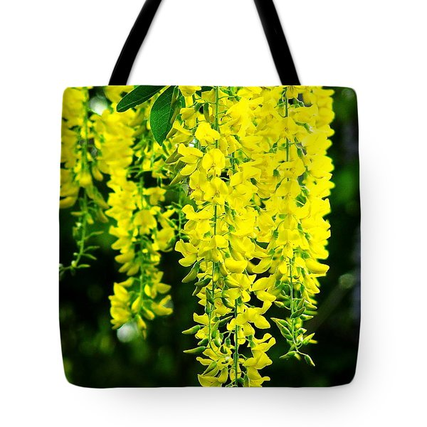 Golden Chain Tree Tote Bag