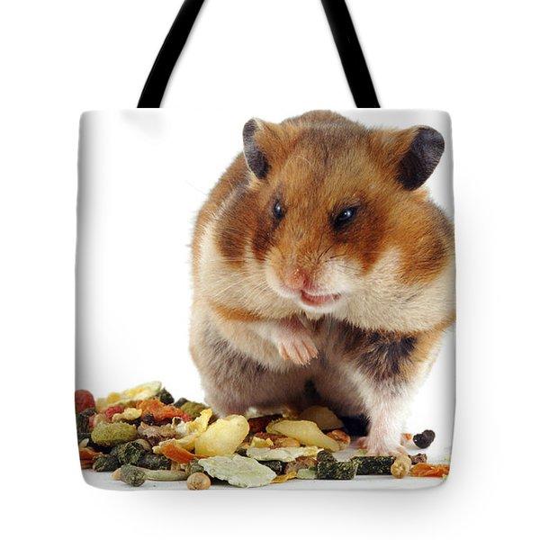 Golden Hamster Tote Bag by Jane Burton