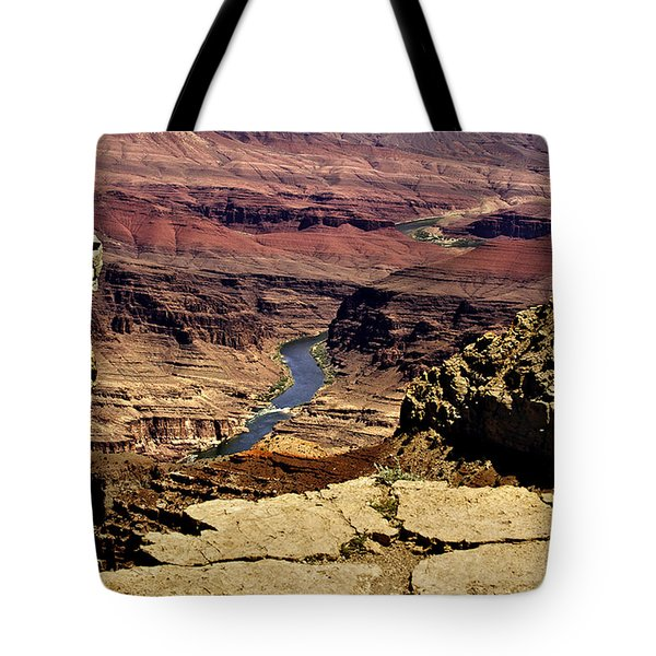 Grand Canyon Colorado River Tote Bag by Bob and Nadine Johnston
