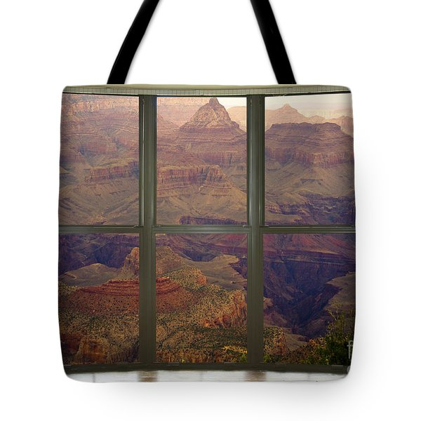 Grand Canyon Springtime Bay Window View Tote Bag by James BO  Insogna