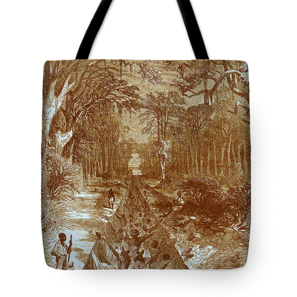 Grants Canal, 1862 Tote Bag by Photo Researchers