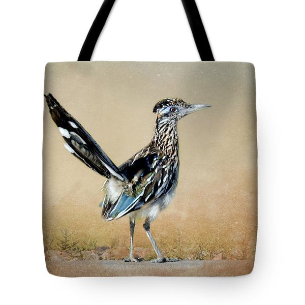 Greater Roadrunner Tote Bag by Betty LaRue
