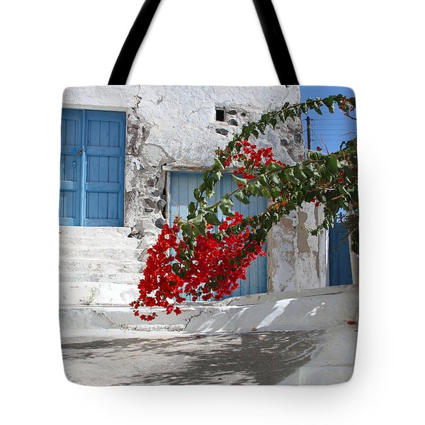 Tote Bag featuring the photograph Greece by Milena Boeva