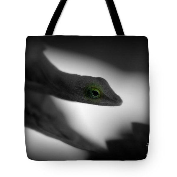 Tote Bag featuring the photograph Green With Envy by Donna Bentley