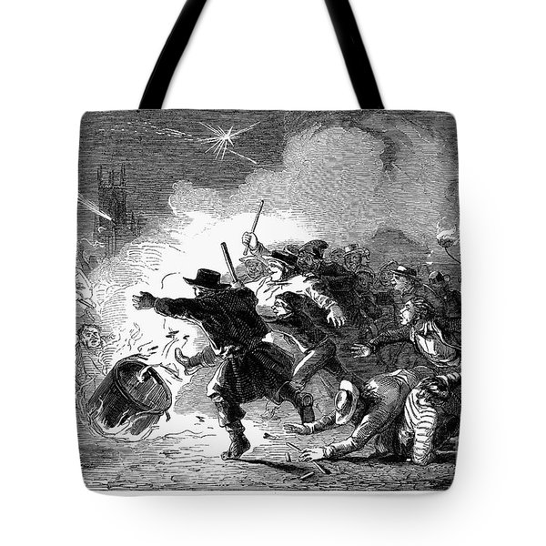 Guy Fawkes Day, 1853 Tote Bag by Granger