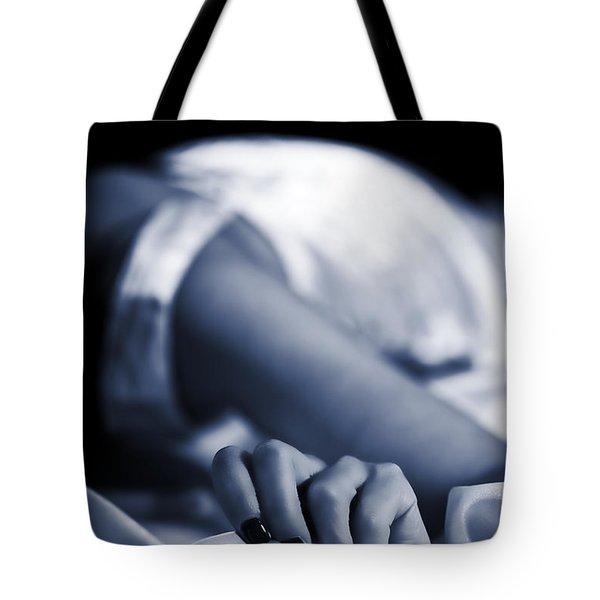 Hand Tote Bag by Joana Kruse