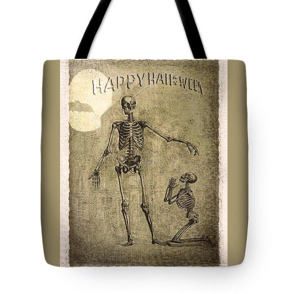 Happy Halloween Tote Bag by Jeff Burgess