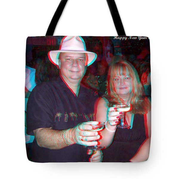 Happy New Year Tote Bag by Brian Wallace