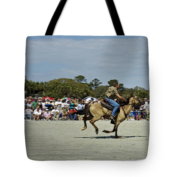 Has A Big Lead Tote Bag by Phill Doherty