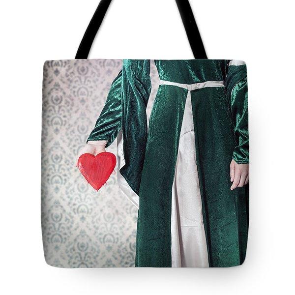 Heart Tote Bag by Joana Kruse