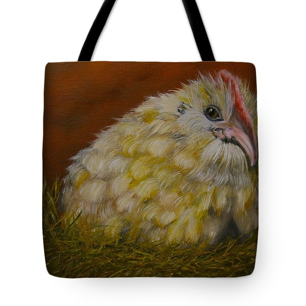 Tote Bag featuring the painting Hector by Marlyn Boyd