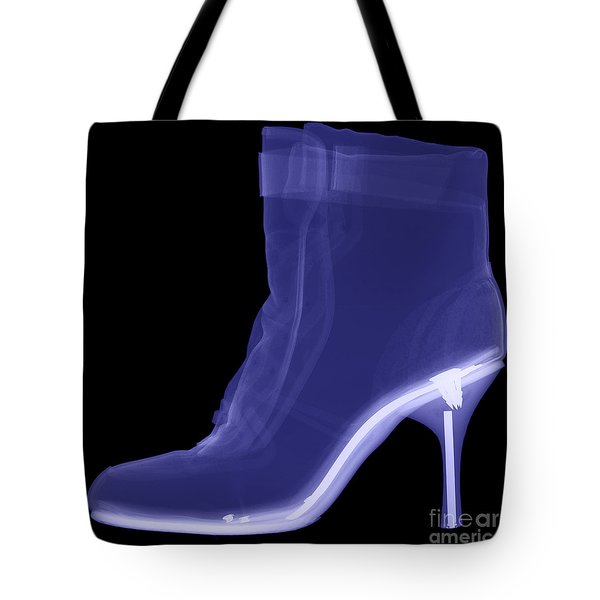 High Heel Boot X-ray Tote Bag by Ted Kinsman