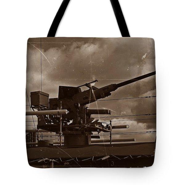 Tote Bag featuring the photograph Hmas Castlemaine 5 by Blair Stuart