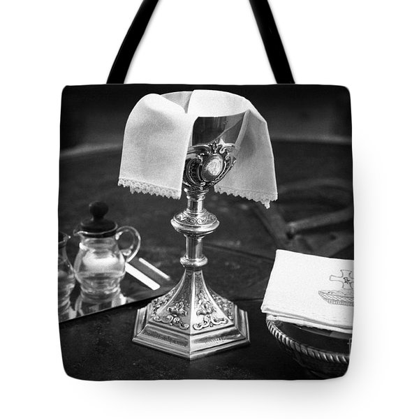 Holy Communion Tote Bag by Gaspar Avila