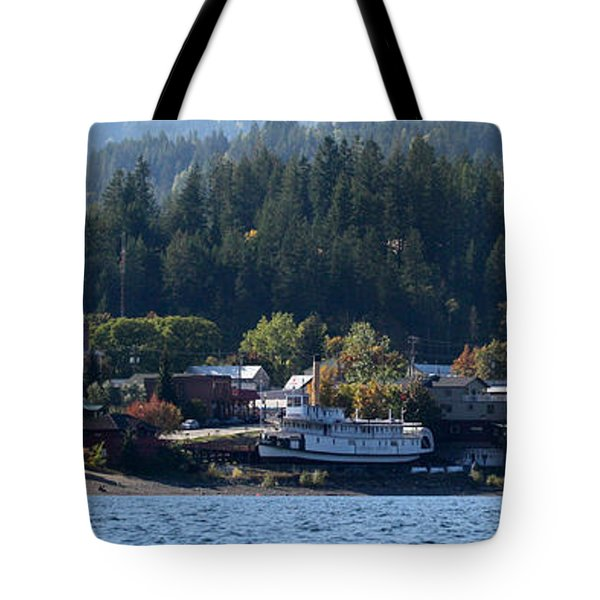 Tote Bag featuring the photograph Home Sweet Kaslo by Cathie Douglas