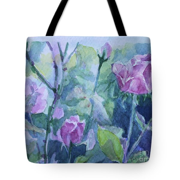 How Did The Rose Tote Bag by Jan Bennicoff