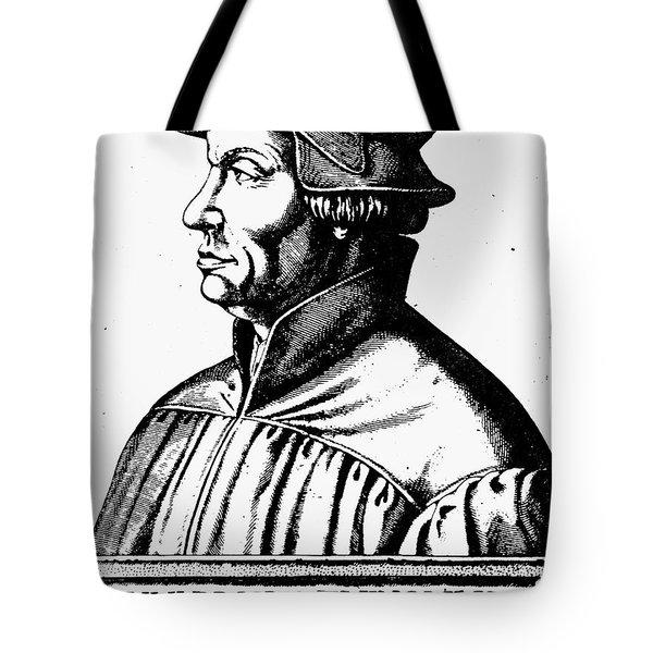 Huldreich Zwingli Tote Bag by Granger