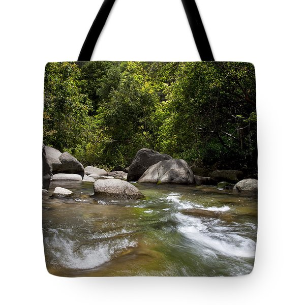 Iao River Tote Bag by Jenna Szerlag