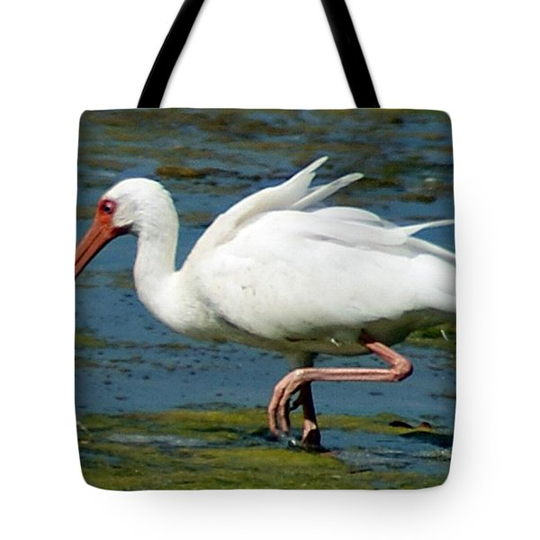 Ibis 2 Tote Bag by Joe Faherty