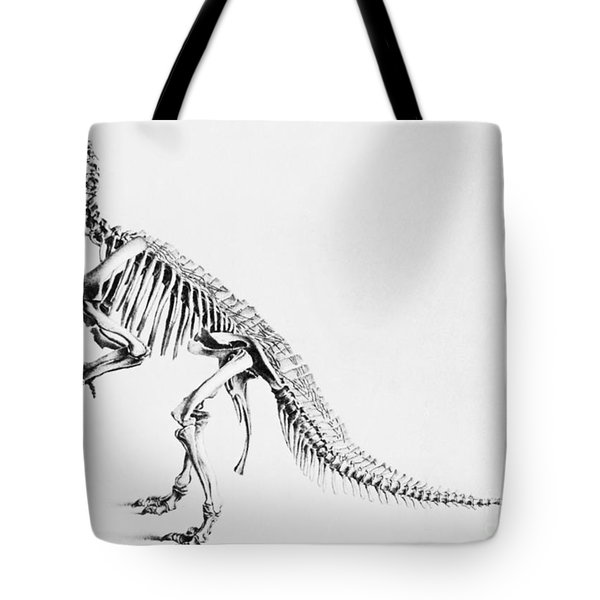 Iguanodon, Mesozoic Dinosaur Tote Bag by Science Source