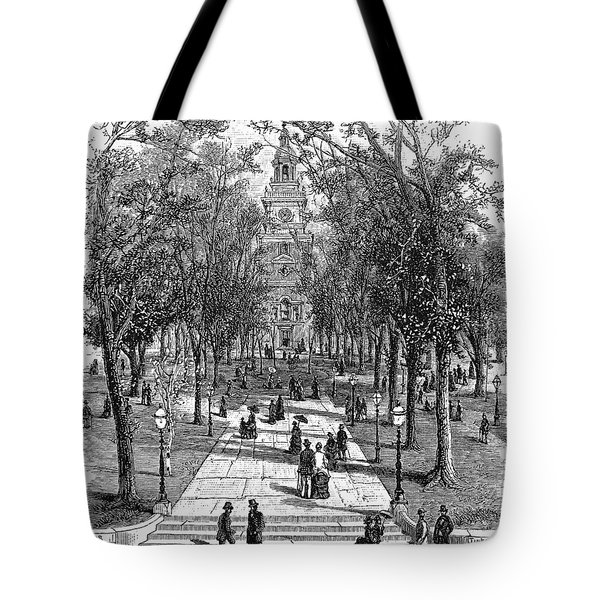 Independence Hall, C1876 Tote Bag by Granger