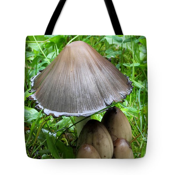 Inky Caps Tote Bag
