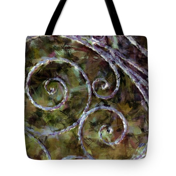 Iron Gate Tote Bag by Donna Bentley