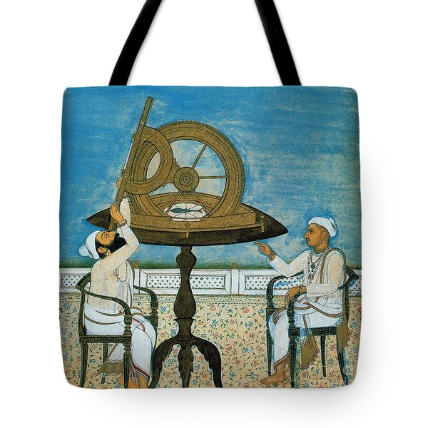 Islamic Astronomers Tote Bag by Science Source