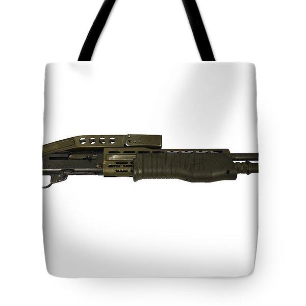 Italian Franchi Spas-12 Combat Shotgun Tote Bag
