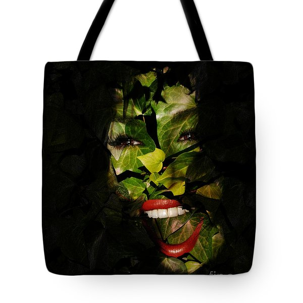 Tote Bag featuring the photograph Ivy Glamour by Clayton Bruster