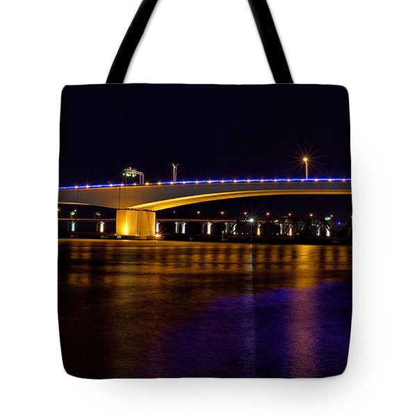 Jacksonville Bridges Tote Bag