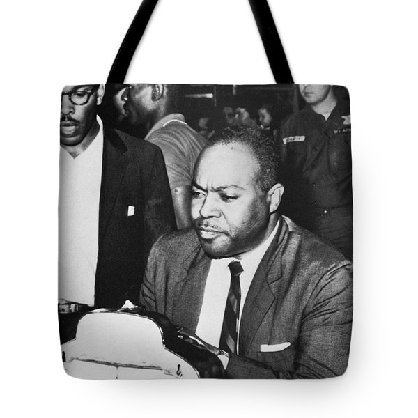 James Farmer (1920-1999) Tote Bag by Granger