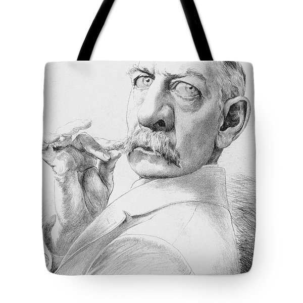 James Gordon Bennett, Jr Tote Bag by Granger