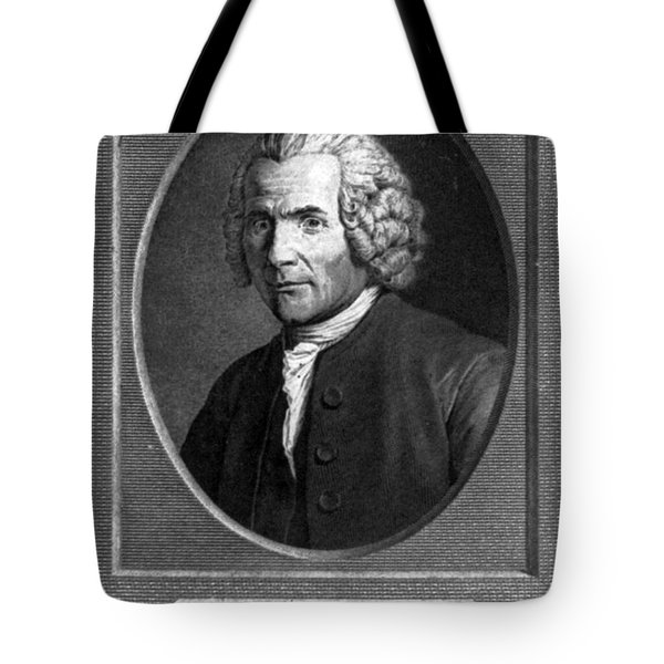 Jean-jacques Rousseau, Swiss Philosopher Tote Bag by Photo Researchers