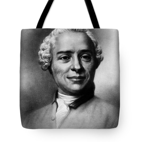 Jean Le Rond Dalembert, French Polymath Tote Bag by Science Source