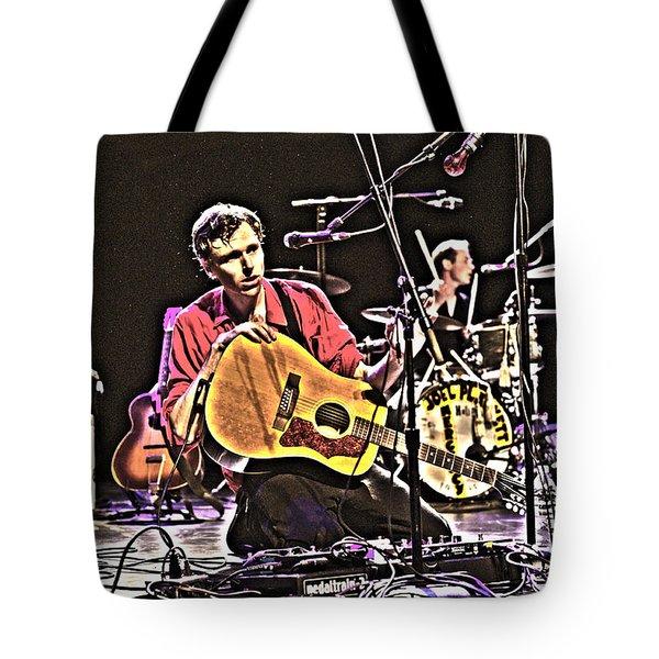 Joel Plaskett Tote Bag by Jeff Ross