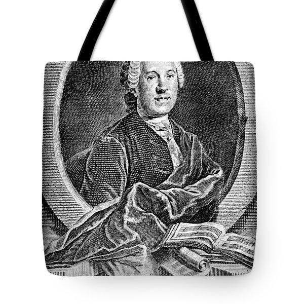Johann Adolf Hasse Tote Bag by Granger