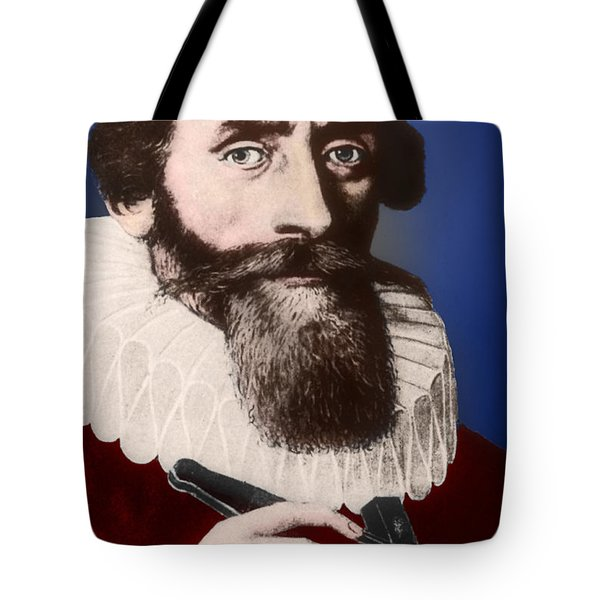 Johannes Kepler, German Astronomer Tote Bag by Science Source