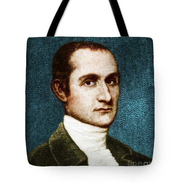 John Jay, American Founding Father Tote Bag by Photo Researchers