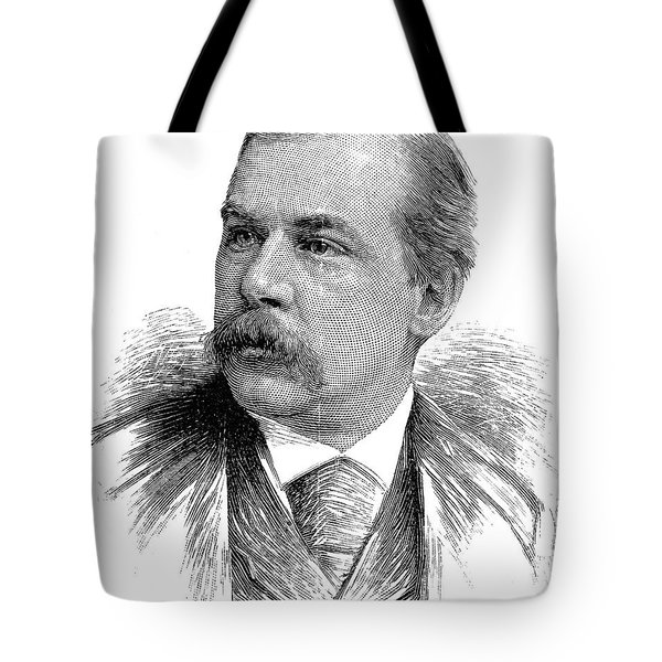 John Pierpont Morgan Tote Bag by Granger
